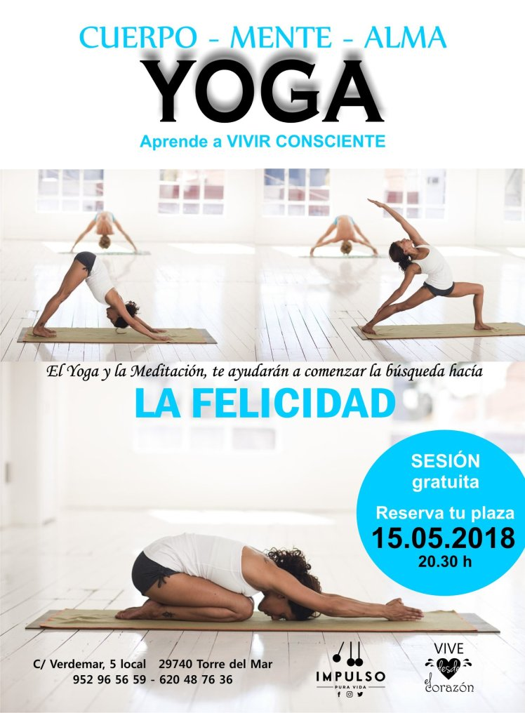 cartel clase Yoga