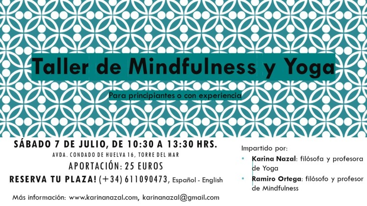 Taller Minfulness y Yoga